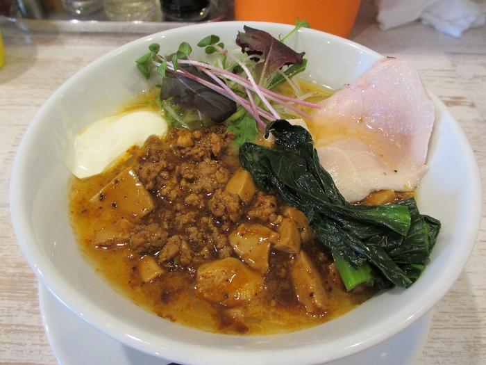 鶏和っ賛 麻婆担々麺