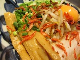 石黒 辛エビ和麺 具 (2)