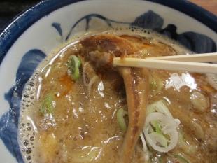 八ちゃん 濃厚魚介味噌つけ麺 チャーシュー