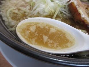 麺や来味弁天 ちゃっちゃ麺 スープ