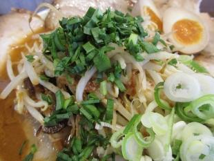 ジョー 味噌チャーシュー麺 具
