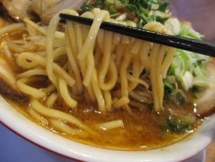 ジョー 味噌チャーシュー麺 麺