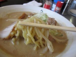 うだつや 味噌ラーメン 麺