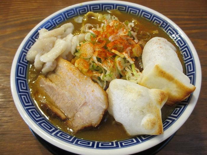 八ちゃん カレー煮干中華ソバ