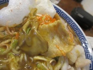 八ちゃん カレー煮干中華ソバ 具 (3)