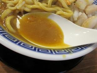 八ちゃん カレー煮干中華ソバ スープ