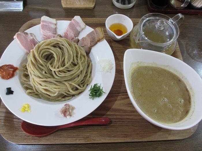 鬼にぼ 鬼コッテリレア叉焼ツケ麺