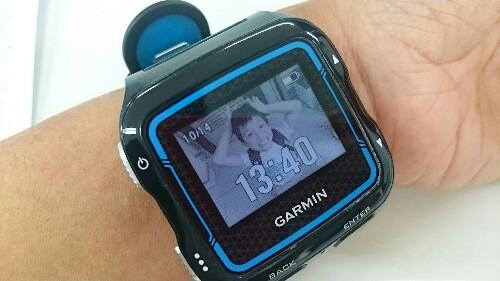 大好きな人の写真を時計に(*^^*)ガーミン新機能FACE-IT