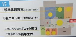 夢と学びフロアマップ1
