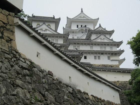 姫路城 にの門から