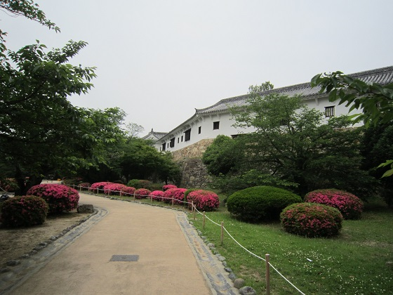 姫路城 西の丸 百軒廊下