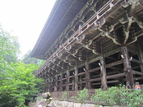円教寺 摩尼殿 構造