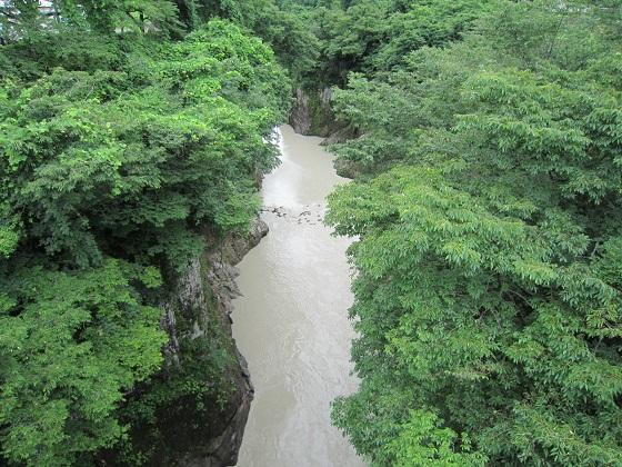 手取峡谷 黄門橋