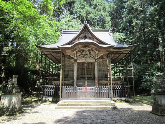 白山平泉寺本社