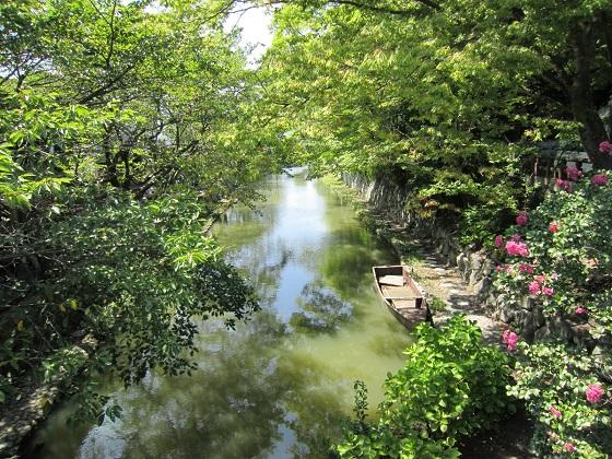 近江八幡 八幡堀風景