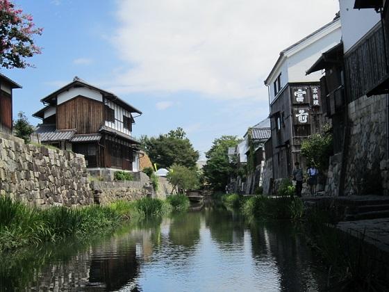 近江八幡 八幡堀遊覧1