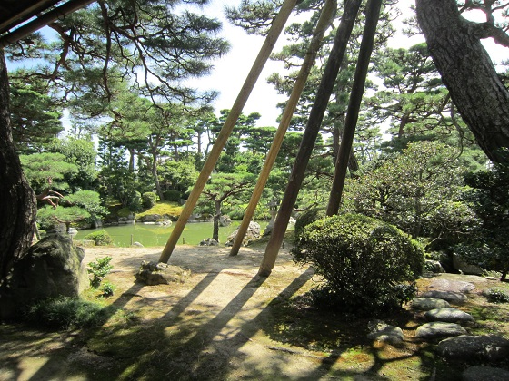 藤井彦四郎邸 客間から見た庭