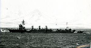 軽巡洋艦 木曽