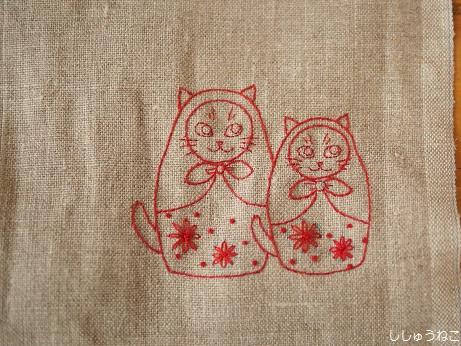 マト猫2匹