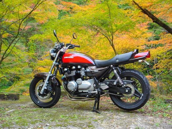懐かしの愛車Kawasaki ゼファー750 ファイナル・エディション