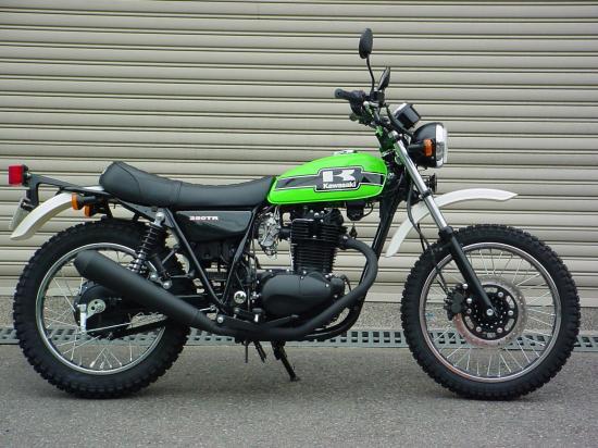 懐かしの愛車Kawasaki 250TR