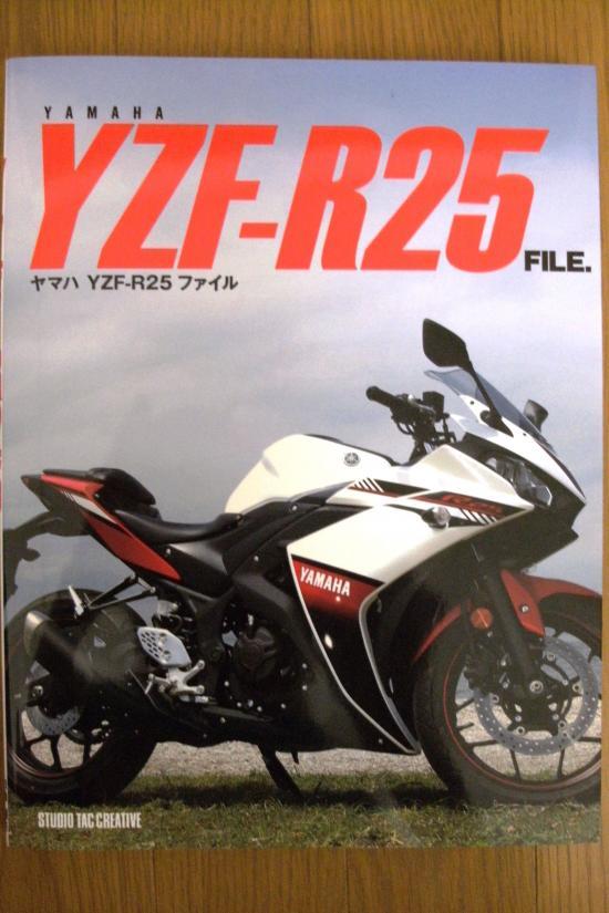 YAMAHA YZF-R25 FILE購入( ゚ω゚ )