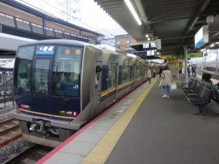 JR京都線桂川駅