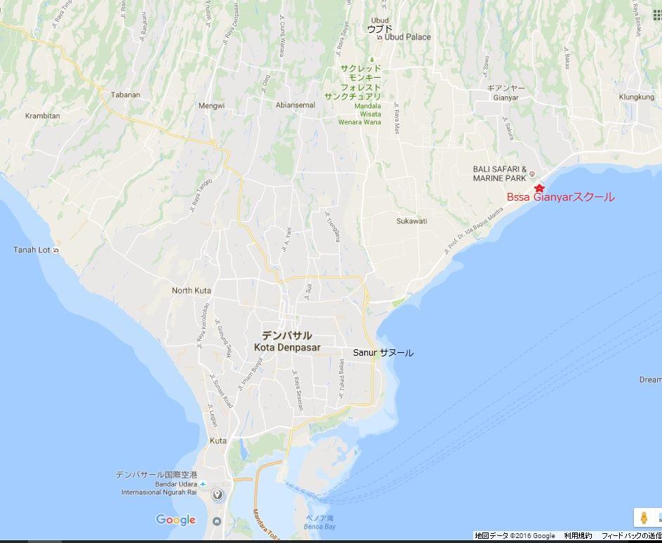MAP SBBAギャニャール校マップ原型