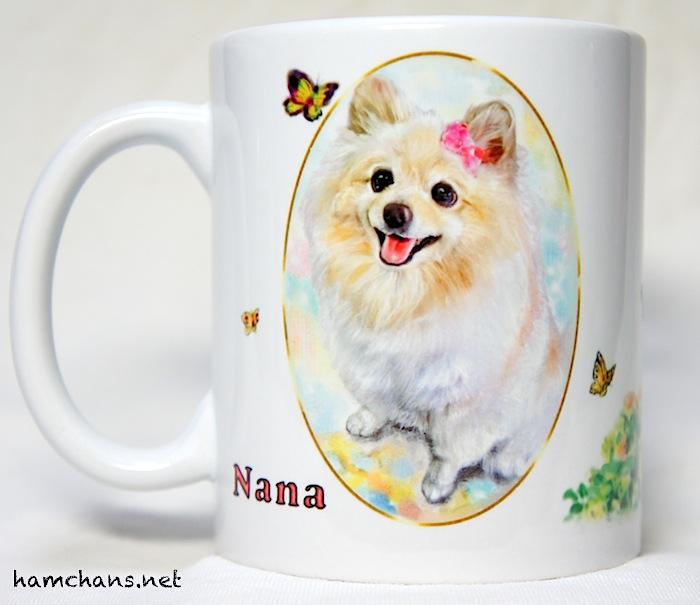 ペットのイラストマグカップ