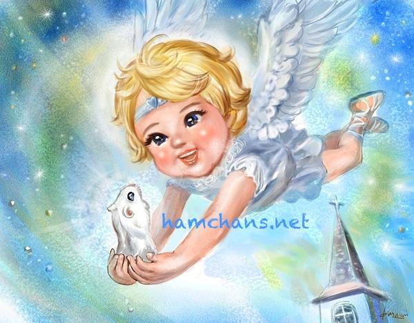 天使の日に・・・