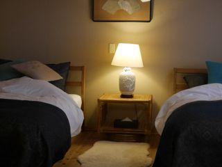 宿のベッド