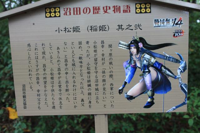 沼田城(4) ~ 小松姫激推し | 武蔵の五遁、あっちへこっちへ