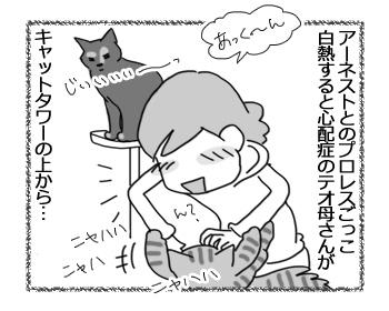 羊の国のビッグフット「テオさんという保護者猫」1