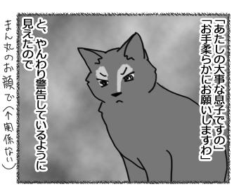 羊の国のビッグフット「テオさんという保護者猫」2