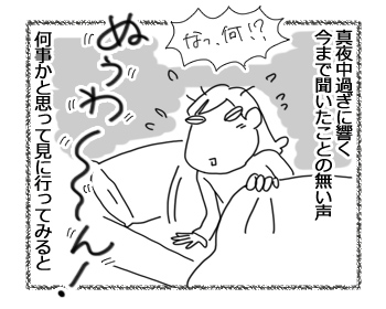 羊の国のビッグフット「真夜中すぎの訪問者」1