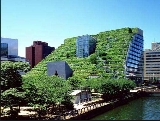 現代の空中庭園 アクロス福岡