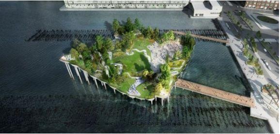 ニューヨークにも空中庭園