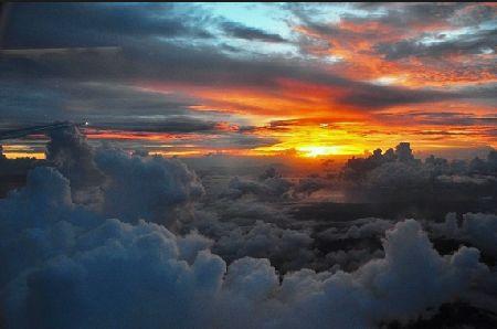 飛行機の窓から2