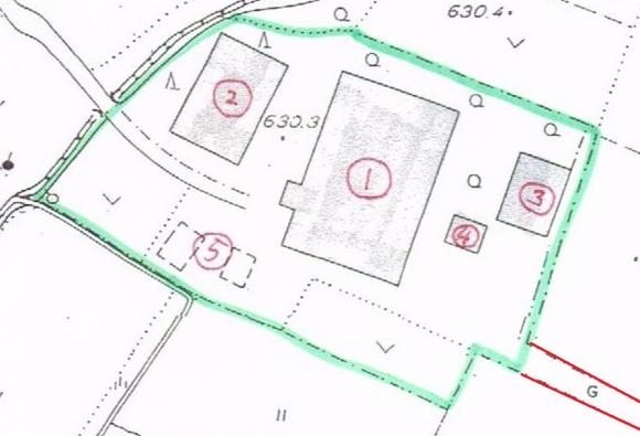古民家の敷地12
